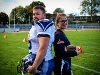 Offenes American Football-Training