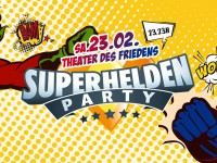 Superheldenparty