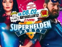 Superhelden Faschingsparty