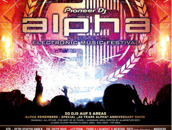 20 Jahre Pioneer Alpha Festival